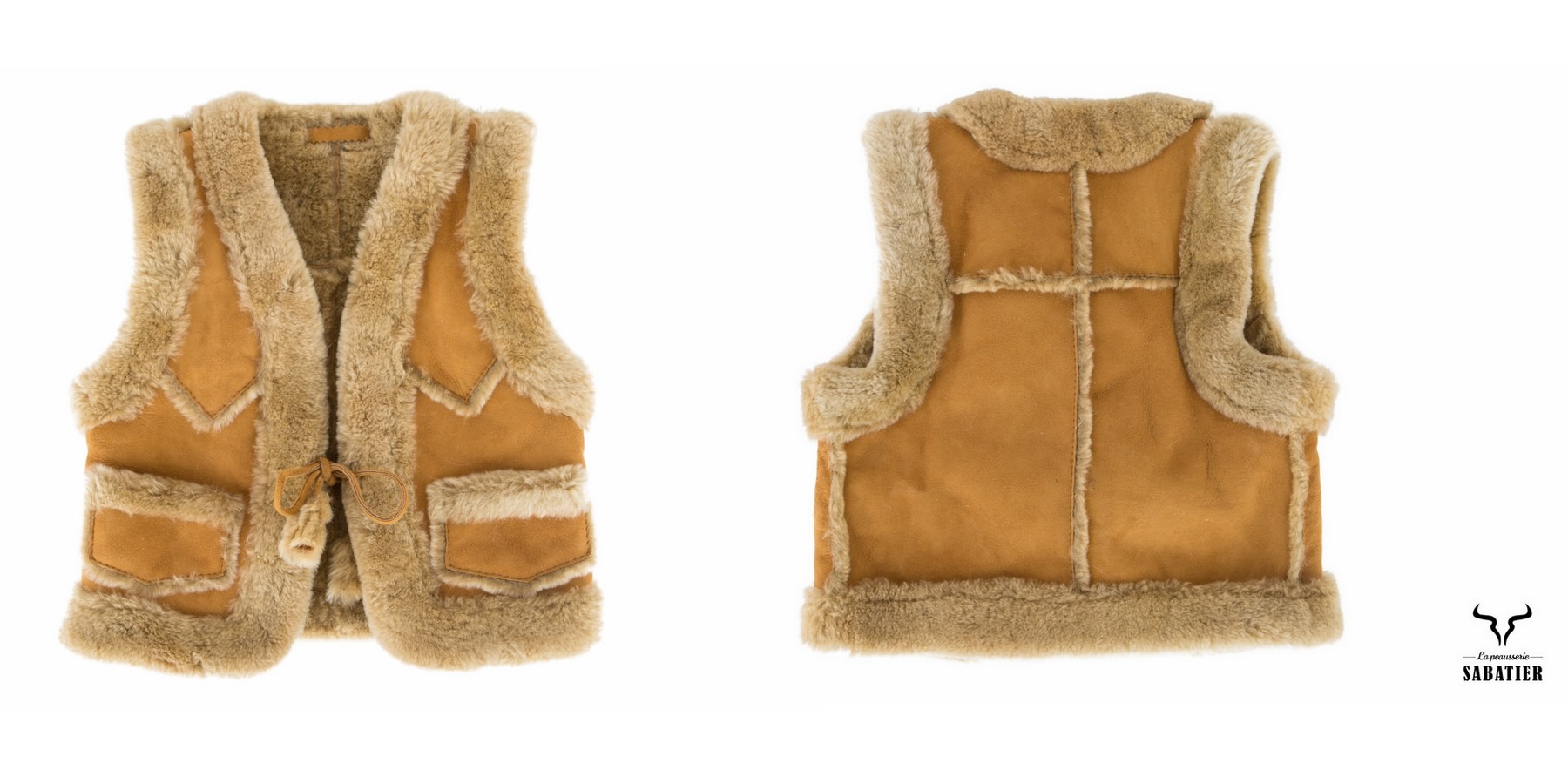Gilet Enfant double-face